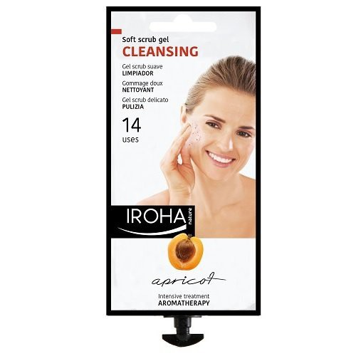IROHA Apricot Soft Scrub Cleansing Gel 25ml