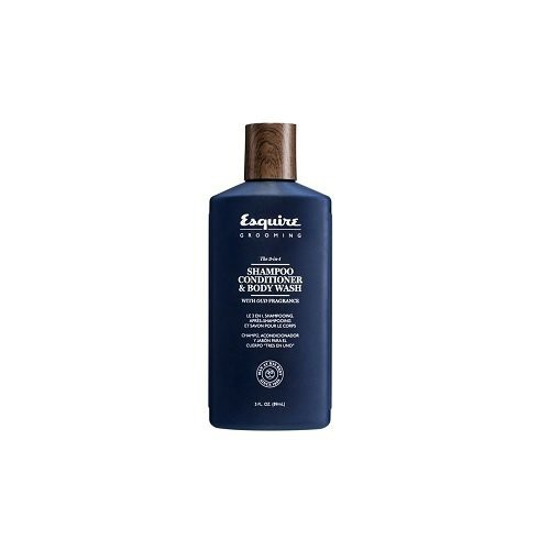 Esquire Grooming 3-in-1 Hair Shampoo, Conditioner & Body Wash 89ml