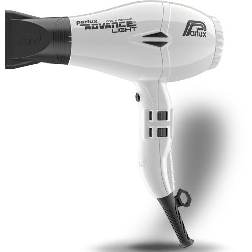 Parlux Advance Light Ceramic Ionic Hairdryer White
