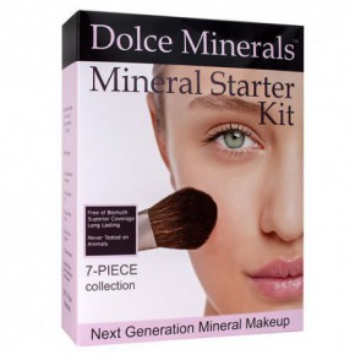 Dolce Minerals Mineral Start Kit 7-Piece Collection MATTE