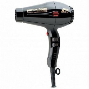 Parlux 3800 Eco Ceramic Ionic Hairdryer - Black