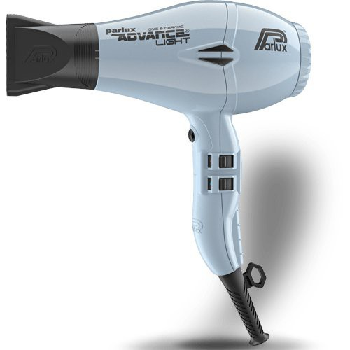 Parlux Advance Light Ceramic Ionic Hairdryer - White Ice