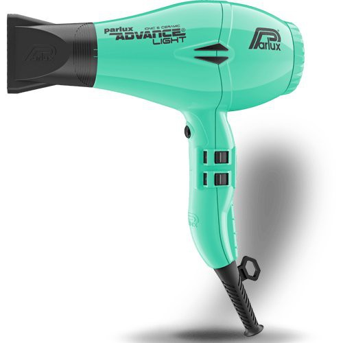 Parlux Advance Light Ceramic Ionic Hairdryer - White Emerald