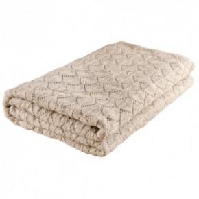 Nord Snow Leaves Style Merino Wool Blanket