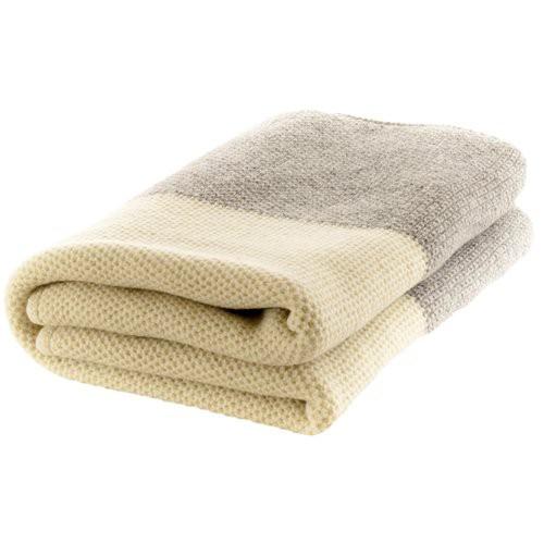 Nord Snow Natural Style Merino Wool Blanket