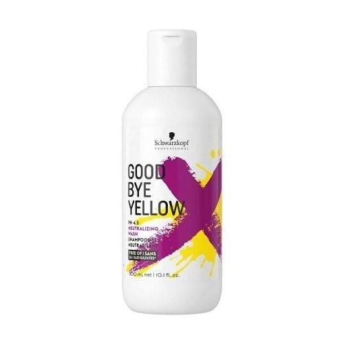 Schwarzkopf Goodbye Yellow Anti-Yellow Tones Hair Shampoo 300ml
