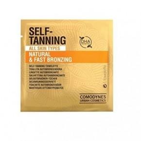 Comodynes Self-Tanning Natural & Fast Bronzing All Skin Types 8pcs