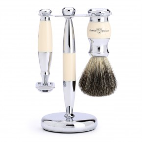 Edwin Jagger Double Edge DE 3 Piece Shaving Set