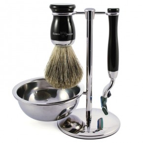 Edwin Jagger 4 Piece Shaving Set