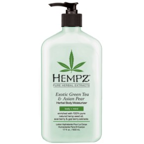 Hempz Exotic Green Tea & Asian Pear Herbal Body Moisturizer 500ml