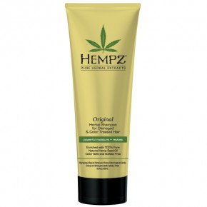 Hempz Original Herbal Shampoo For Damaged & Color Treated Hair 265ml
