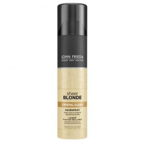 John Frieda Sheer Blonde Crystal Clear Hairspray 250ml