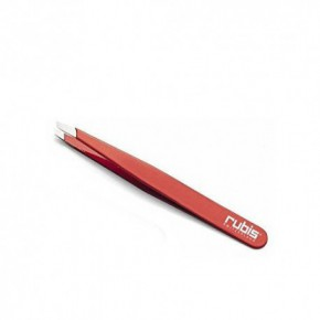 Rubis Slanted Tip Red Tweezers 130