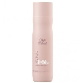 Wella Cool Blonde Recharge Hair Shampoo 250ml