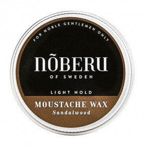 Noberu Moustache Wax - Light Hold 30ml
