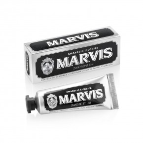 MARVIS Amarelli Licorice Liquorice Mint Toothpaste 25ml