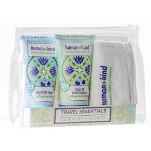 human+kind Travel Essentials Pack