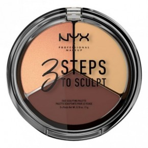 NYX Professional Makeup 3 Steps to Sculpt Face Sculpting Palette 15g
