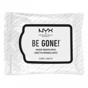 NYX Professional Makeup Be Gone! Makeup Remover Wipes 20pcs