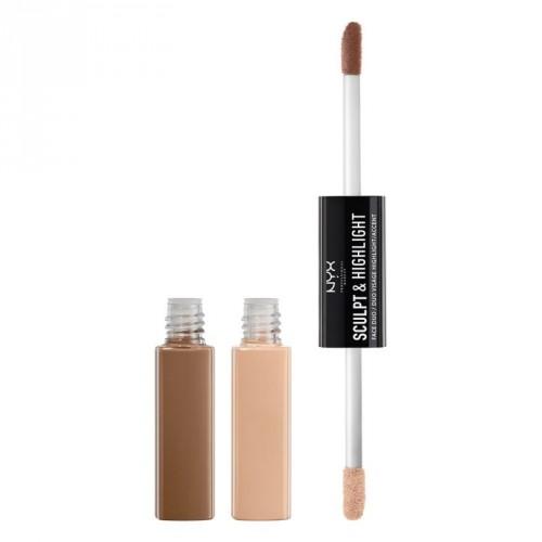 NYX Professional Makeup Sculpt & Highlight Face Duo 10.6ml