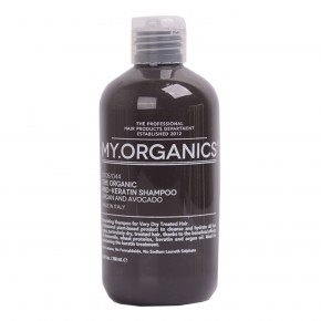 My.Organics The Organic Pro-Keratin Hair Shampoo 250ml