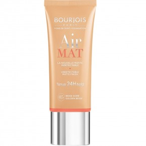 Bourjois Air Mat Undetectable Matte Finish 24h Makeup Foundation 30ml