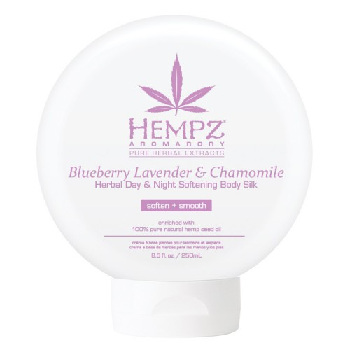 Hempz Aromabody Blueberry Lavender & Chamomile Herbal Day & Night Softening Body Silk 250ml