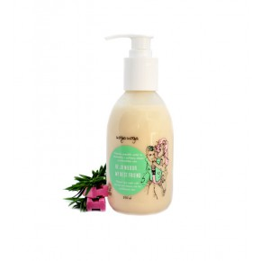 Uoga Uoga Mom, I'll Stay at Milda's Natural Face Wash For Oily, Combination And Problematic Skin 250ml