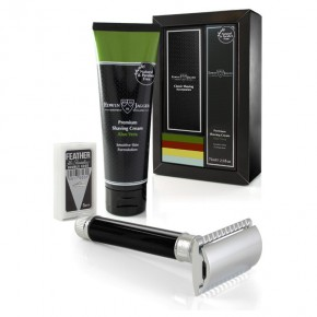Edwin Jagger Classic Shaving Accessories Gift Set