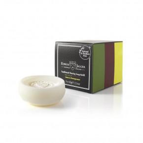 Edwin Jagger Traditional Shaving Soap Refill Triple Pack: Aloe Vera, Sandalwood, Limes & Pomegranate