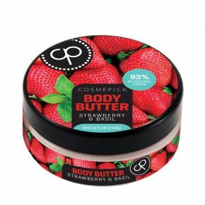 Cosmepick Body Butter Strawberry & Basil Moisturizing 200ml