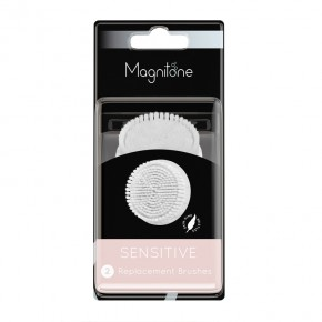 Magnitone London Soft + Sensitive Skin Replacement Heads