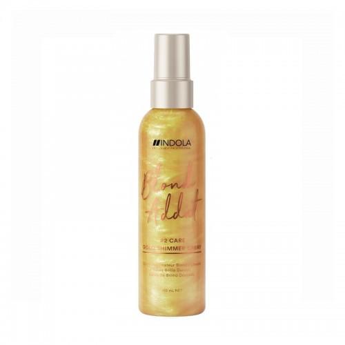 Indola Blond Addict Gold Shimmer Spray 150ml