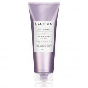 Nanogen 7in1 Thickening Hair Treatment Shampoo For Women 240ml