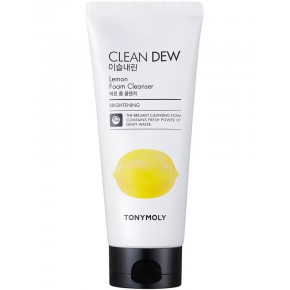 TONYMOLY Clean Dew Lemon Foam Cleanser 180ml