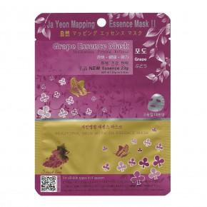 Ja Yeon Mapping Grape Essence Mask 24g