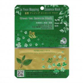 Ja Yeon Mapping Green Tea Essence Mask 24g