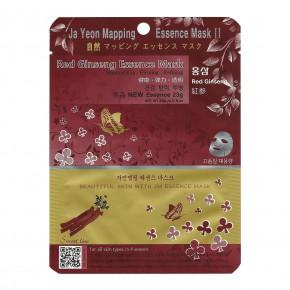 Ja Yeon Mapping Red Ginseng Essence Mask 24g