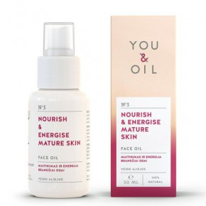 You&Oil Nourish & Energise Mature Skin Face Oil 50ml