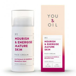 You&Oil Nourish & Energise Mature Skin Face Cream 30ml