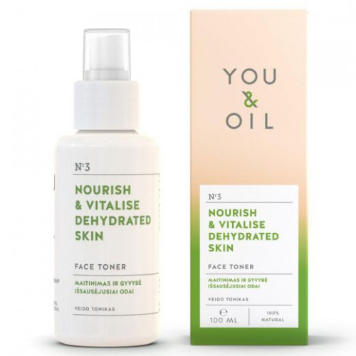 You&Oil Nourish & Vitalise Dehydrated Skin Toner 100ml