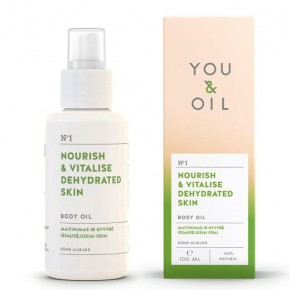 You&Oil Nourish & Vitalise Dehydrated Skin Body Oil 100ml