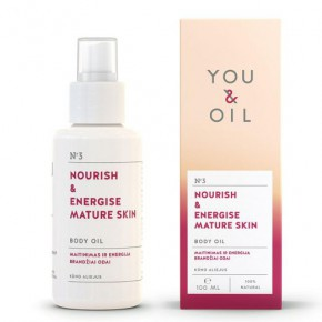 You&Oil Nourish & Energise Mature Skin Body Oil 100ml