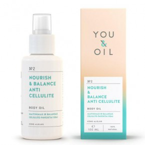 You&Oil Nourish & Balance Anti-Cellulite Body Oil 100ml
