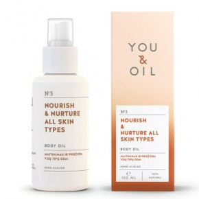 You&Oil Nourish & Nurture All Skin Types Body Oil 100ml