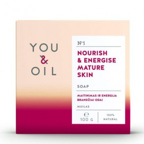 You&Oil Nourish & Energise Mature Skin Soap 100g