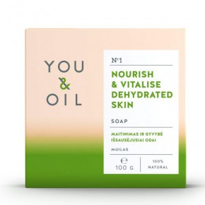 You&Oil Nourish & Vitalise Dehydrated Skin Soap 100g