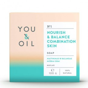 You&Oil Nourish & Balance Combination Skin Soap 100g