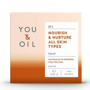 You&Oil Nourish & Nurture All Skin Types Soap 100g