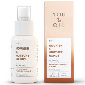 You&Oil Nourish & Nurture Hand Oil 50ml